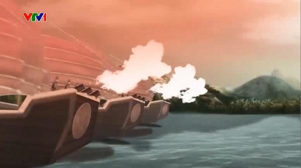 Trần Khát Chân bắn chết Chế Bồng Nga